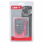 "UNI-T UT120C Portable 1.8 ""LCD Digital Multimeter - Grå + röd (1 x CR2032)"