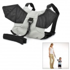 Cool Bat Style Kids Safety Harness - Black + Grey