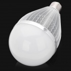 E27 18.6W 3500K 1800lm 1-LED Warm White Light Bulb - Silver (AC 110~220V)