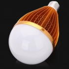 E27 18.6W 6500K 1800lm 1-LED White Light Bulb - Golden (AC 90~220V)