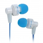 Awei ES700i In-Ear Bass Stereo Earphone - Blue + White (3.5mm / 120cm)