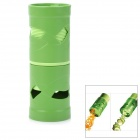 Multifunctional Fruit and Vegetable Processing Peel Cutter Device - Green