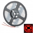 36W 650nm 150-SMD 5050 LED Waterproof Red Light Flexible Strip (DC 12V / 5m)