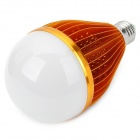 E27 18.6W 3500K 1800lm 1-LED Warm White Light Bulb - Golden (AC 90~220V)