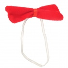 Coqueta Decoración Disfraz Orejas Partido Headband Bow Tie + + Set Tail - Rojo (3 PCS)