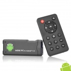 Android 4.0 Mini PC Amlogic M3 Cortex A9 1G RAM 4G ROM w/ HDMI / Wi-Fi - Black