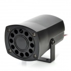 NP-110 30W 112dB Auto Security System Alarm Speaker Siren Horn - Black (DC 12V)
