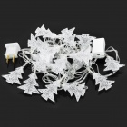 Christmas Tree Shaped 500mcd RGB Light LED Decorative Lamp for X'Mas - (DC 110~220V / 3m-Cable)