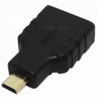 Micro HDMI Male to HDMI Female Adapter - Black