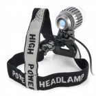 BeamTeeh Cree XM-L T6 + XP-E R5 LED White Headlamp w/ Bicycle Tail Lamp