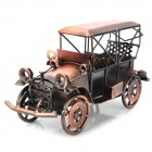 Creative Classic Car Style Metal Display Model - Copper