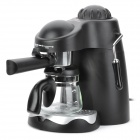 ST-662 Steam Espresso Cappuccino Coffee Maker Machine - Black + Silver