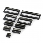 DIP IC Socket for DIY Project - Black (9 PCS)