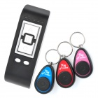 3-in-1 Key Finder Transmitter + Receiver Set - Black + Blue + More