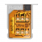R-SIM5 SIM Card Unlock Attachment w/ Card Tray Holder for iPhone 4S 5.1.1 / 5.1 / 5.0.1 / 5.0