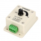 Single Channel Rotary Dimmer Controller for LED Light Strip - Beige