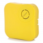 X-Sticker Portable 1W Vibration Sound Speaker - Lemon Yellow