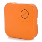 X-Sticker 1W Portable Vibration Sound Speaker - Orange