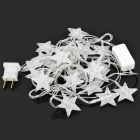 Star Shaped 500mcd RGB Light LED Decorative Lamp for X'Mas - (DC 110~220V / Flat Plug / 3m-Cable)