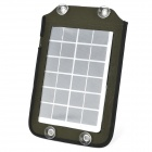 YG-050 5W Portable Solar Charger w/ USB Port for Iphone / Ipad / Ipod