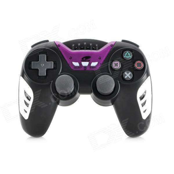 Dualshock SIXAXIS Wireless Bluetooth Controller for Sony PS3 PlayStation 3 - Black + Purple