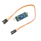 6495 Fotowiderstand Light Sensor-Modul für Smart Car - Schwarz + Blau