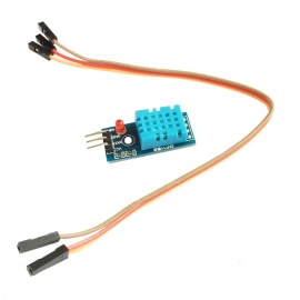 6490 DHT11 Humidity Temperature Sensor Module - Blue
