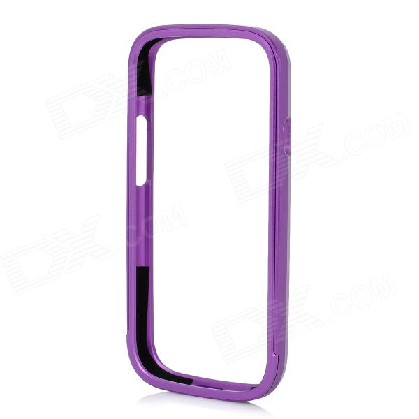Protective Aluminum Alloy Bumper Frame for Samsung Galaxy S3 i9300 - Purple