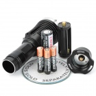 800LM White Light Diving Flashlight - Black (1 x 18650 / 3 x AAA)