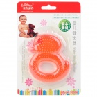 Duck Style Water Ring Soother for Baby - Red
