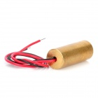 650nm 9mm Laser Diode Copper Module w/ Glass Lens - Golden (14.5cm)