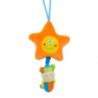 Star + Monkey Style Music Drawstring Doll - Orange