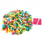 MO-11 Magic Corn Starch DIY Educational Toy Set - Multicolored (1000 PCS)