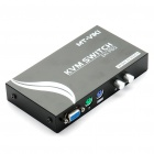 2-Port Manual/Mechanical KVM Converter/Switcher (Random Color)