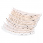 0603 1R~1M Resistor Strips Set - White (21 x 30 PCS)