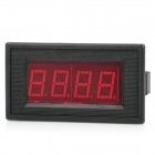 "3-1/2 Digit 2.2"" LED Display Panel Digital Meter / Ammeter - Black (DC 10A)"