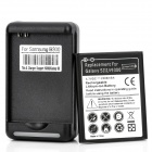 USB / AC Battery Charging Cradle + 3.7V 2300mAh Battery for Samsung Galaxy S3 / i9300