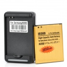 USB / AC Battery Charging Cradle + 3.7V 2850mAh Battery for Samsung Galaxy S3 / i9300