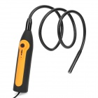 300KPl Waterproof USB Inspection Tube Snake Camera Borescope w/ 4-LED Illumination - Black