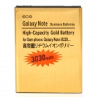 3.7V 3030mAh Battery for Samsung Galaxy Note /i9220/GT-N7000 - Golden