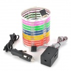 Car Sound Control Sensor Music Rhythm Electro-Luminescent Sheet Light Lamp (45 x 11cm)