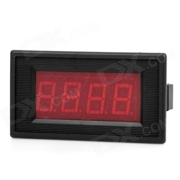2.2 LCD RED LED Panel 0~10A Digital Meter Ammeter - Black three phase lcd digital panel ammeter voltmeter ampermeter combination table