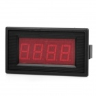 "2.2"" LCD RED LED Panel 0~10A Digital Meter Ammeter - Black"