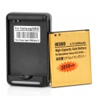 USB / AC Battery Charging Cradle + 3.7V 2850mAh Battery + EU Adapter for Samsung Galaxy S3 / i9300