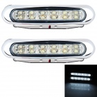 0.63W 36lm 12-LED White Light Car Daytime Running Light (12V / 2PCS)