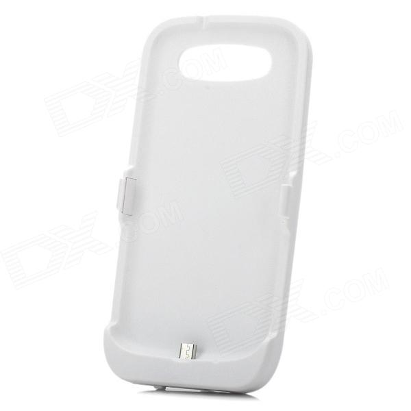 Portable 3500mAh Mobile External Battery Power Charger for Samsung Galaxy S3 / i9300 - White