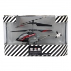 Rechargeable 3-CH R/C Helicopter w/ IR Controller - Black
