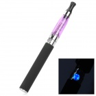 EGO-K Rechargeable 650mAh Electric Cigarette w/ Atomizer - Purple + Black