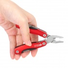 Multi-Function Stainless Steel Pliers Toolkit - Red