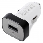 LDNIO DL-211 USB Car Charger w/ Apple 30-Pin + Micro USB Adapters - White